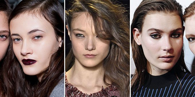 Autumn winter 2016 beauty trends from the A/W 16 runway