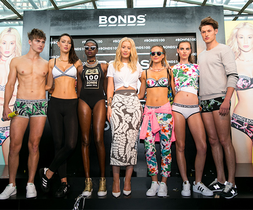 Bonds 100th Birthday Event with Iggy Azalea