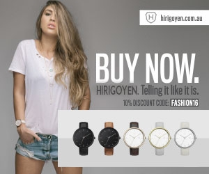 Buy Your Very Own Hirigoyen Watch Today. Special Discount Code for our Fashion Weekly Readers.