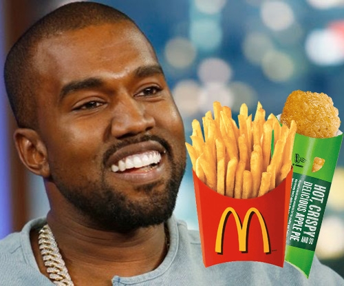 Kanye is done being hangry in McDonald's poem