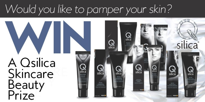 Win a Qsilica skincare beauty prize valued at over $110!