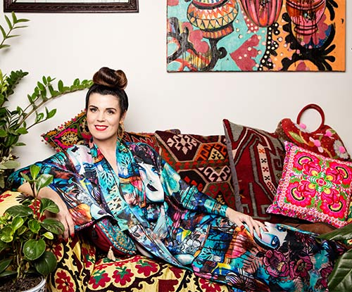 'A Day In The Life' of Queensland artist Sarah Hickey