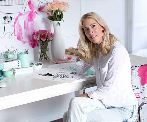 Illustrator Kerrie Hess on interior styling tips