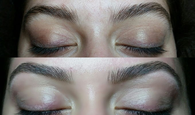 The Brow Specialist before and after