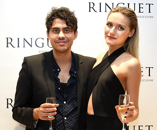 Guess who attended Ringuet's VIP shopping event