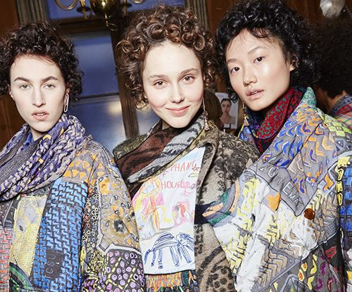 Vivienne Westwood's Red Label AW16 hair how to