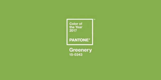 Will you be embracing Pantone's Greenery colour of 2017?