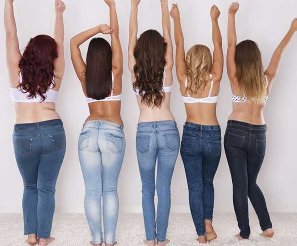 Style guide to choosing jeans for your body shape