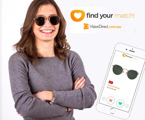 Vision Direct wants to help find your perfect match