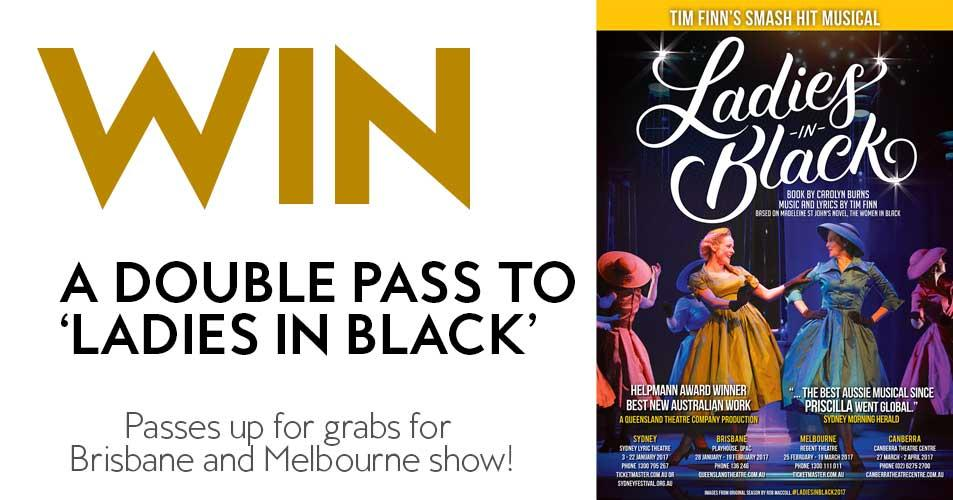 Win a double pass to 'Ladies in Black'