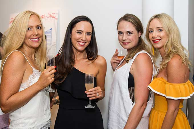 Last week, UNE PIECE celebrated the launch of their latest collection, Cap d'Ail in collaboration with renowned fashion illustrator, Kerrie Hess.