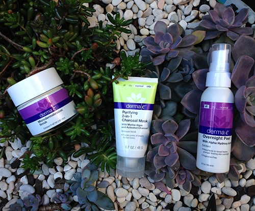 Have irresistible, revived skin with derma e