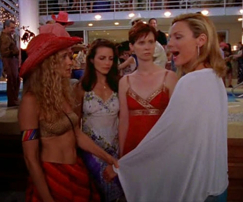 Brave Insta account on SATC's epic outfit fails