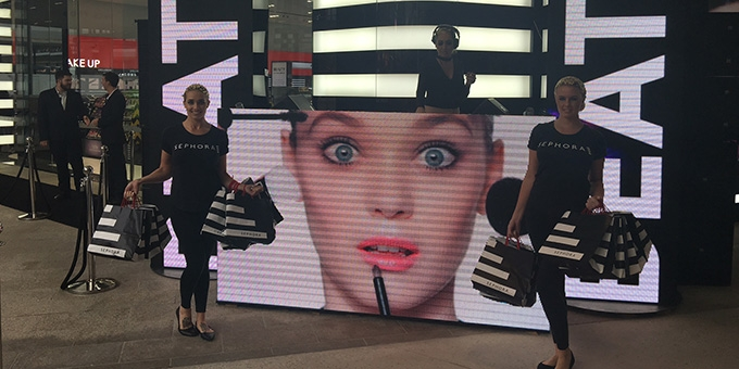 Everything you need to know about the crazy opening of the Gold Coast's Sephora.