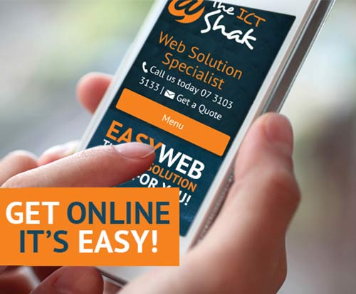 Build your small business website with EasyWeb