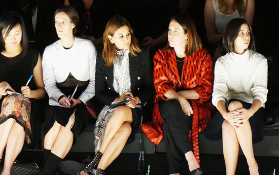 Australian Vogues finest front row at MBFWA Photography by Aicha Robertson
