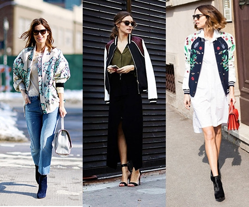 'It' trend for winter: the bomber jacket