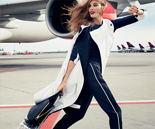 What to wear and how to stay stylish when flying