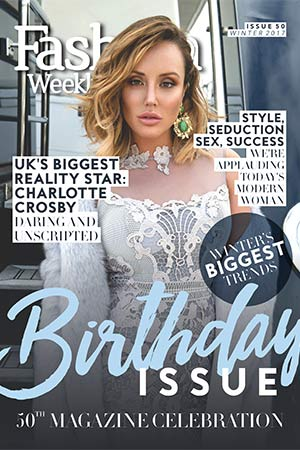 Fashion Weekly Magazine Out Now With Charlotte Crosby On The Cover