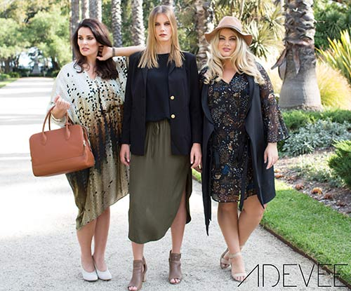 Adevee Fashion opens curve & inbetweenie eStore