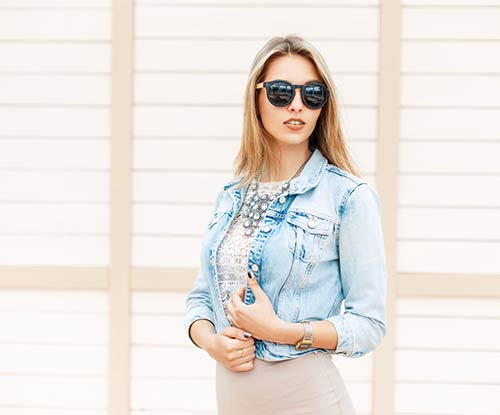 'It' trend for winter: the denim jacket