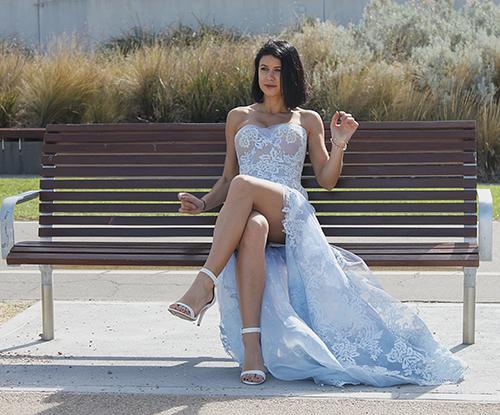 Rebecca Dimitrov in Miss Multiverse Australia 2018