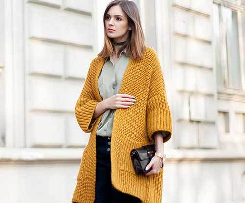 How to perfectly style your cardigan