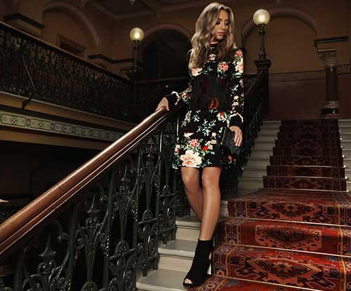 Nadia Bartel on Westfield Carindale AW17