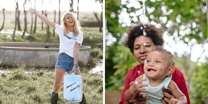 Elyse Knowles supports Wateraid and EMU Australlia