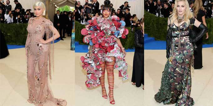 From the Kardashian-Jenner's to Halle Berry, everyone is showing up in their finest for the 2017 Met Gala.