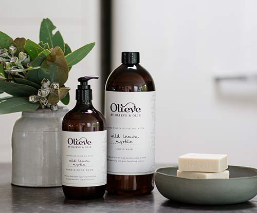 Nourished & hydrated skin: Olieve & Olie