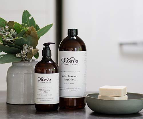 Nourished & hydrated skin: Olieve & Olie