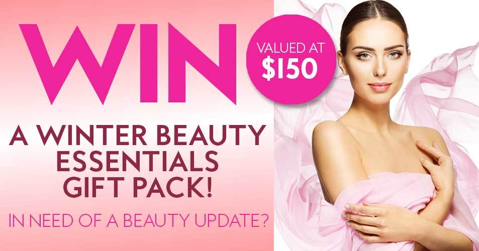 Win a Winter Beauty Essentials Gift Pack worth over $150!