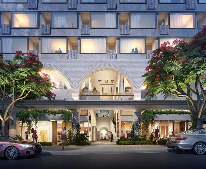 The Calile Hotel opens Spring 2018 as Brisbane's latest luxurious stay and shop destination.