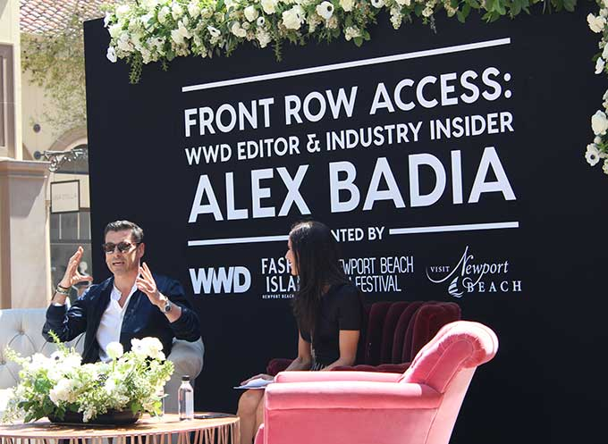 Woman's Wear Daily (WWD) Fashion Director Alex Badia chats trends, film and top dressed celebrities in this exclusive.