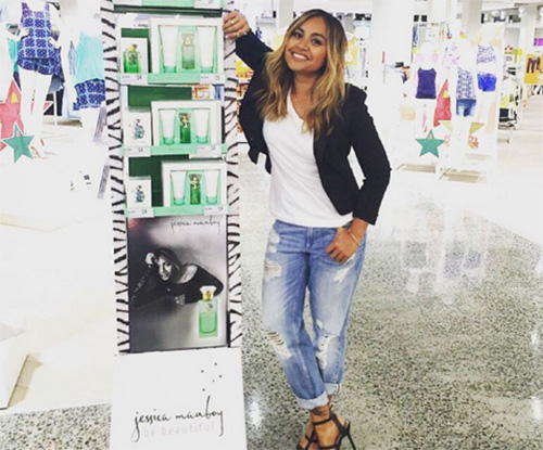Jessica Mauboy talks new fragrance and summer beauty