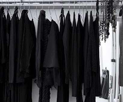 Sassy fashion quotes if you own a black wardrobe