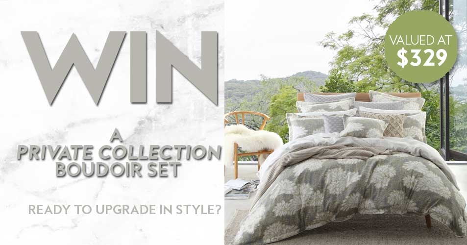 Would you like to upgrade your boudoir in style? Well, then this competition is for you!