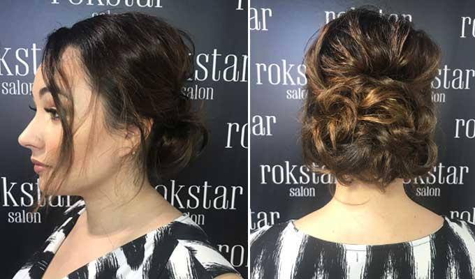 Party season is here, and I wouldn't be camera ready without Rokstar hair salon. Here's why…