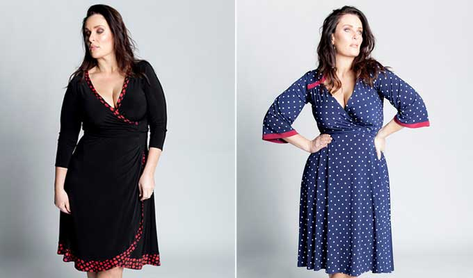 We want to introduce you to a fashion label that designs garments to flatter and celebrate curvy women.