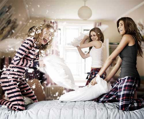 How to hold the perfect sleepover: grown-up style!