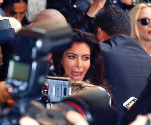 Kim Kardashian attacked by the same guy as Gigi