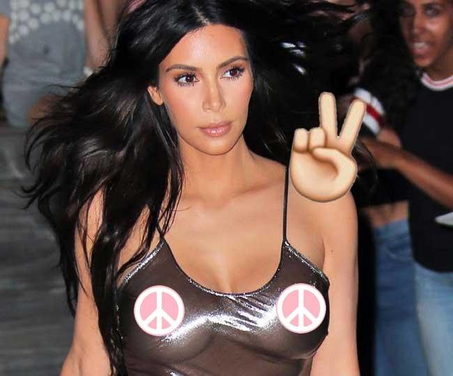 Kim Kardashian gets political in New York Times