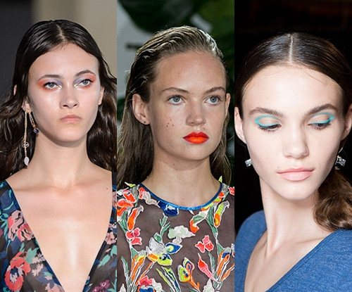 NYFW beauty trends for spring summer 16/17