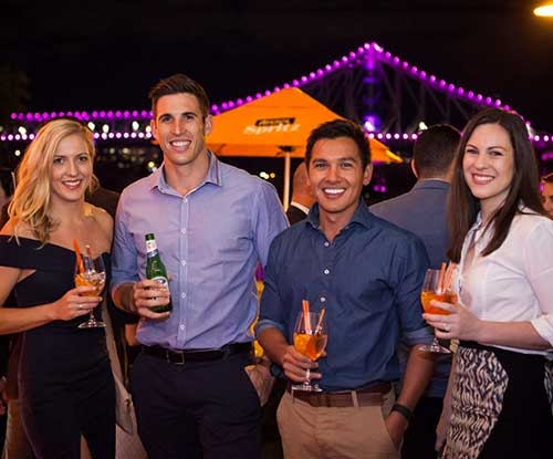 Sunset Spritz pop up bar launch at Customs House