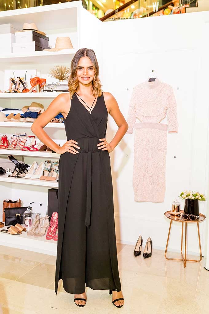 Westfield Carindale has teamed up with Samantha Harris to launch her ultimate Spring Summer 16 capsule collection.