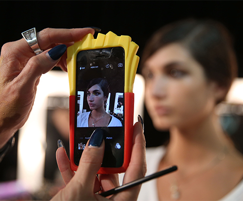 Snapchat enables users to have the first look at NYFW backstage beauty