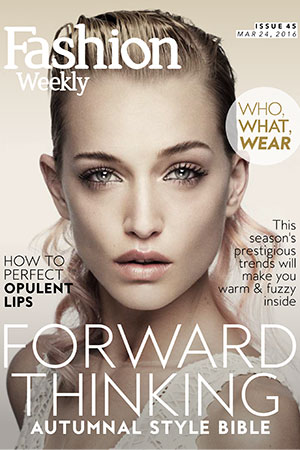 Fashion Weekly Autumn Style Guide | Issue #45 Forward Thinking