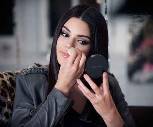Kendall Jenner and Estée Lauder poke fun at smartphone addictions