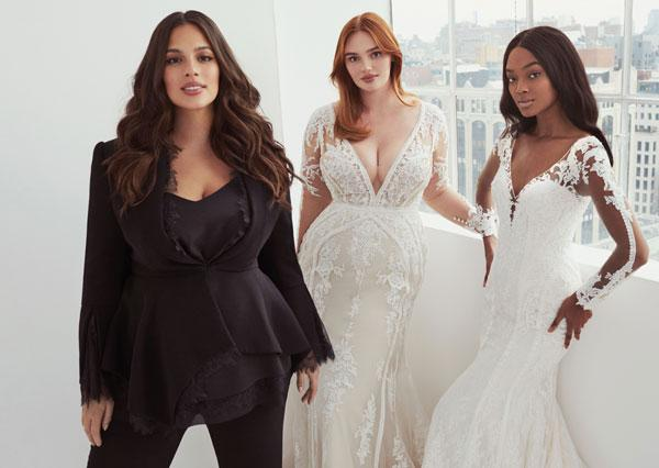 Ashley Graham X Pronovias  Bridal Collection Launches